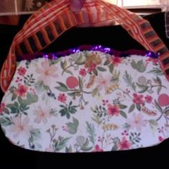 Art Deco Autumn Floral 7″ x 4″ X 1.5″ $20.00