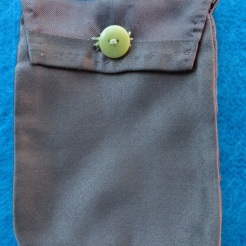 Brown Silk Coin Purse $135.00 for this set; includes bag and wallet