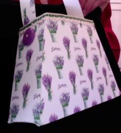 """Bella Purse Lavender (Private Collection) 7"""" x 4.5"""" x 2"""" $25.00"""