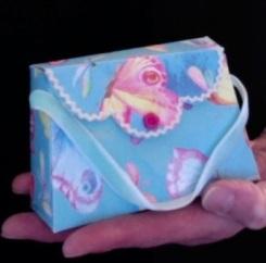 """Molly Purse Butterflies 4.5"""" x 2.75"""" x 1.5"""" 12.00"""