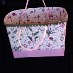 SOLD Lisette Tote Pink Floral