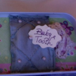 "Butterflies Tooth Fairy Kit 3.75"" x 2.25"" x 1"" $20.00"