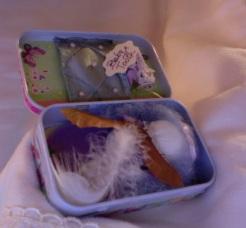 """Butterflies Tooth Fairy Kit 3.75"""" x 2.25"""" x 1"""" $20.00"""