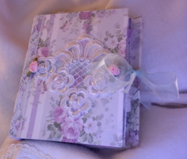 SOLD Lilac and Lace Journal by Quadira