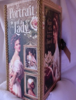 """Portrait of a Lady Journal 7"""" x 8"""" x 4"""" $197.00 SOLD"""