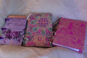 "Little 3-Ring Notebooks 2.75"" x 4"" $17.00"