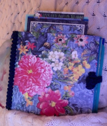 "Flutter Journal 5"" x 5"" x 2"" $53.00"
