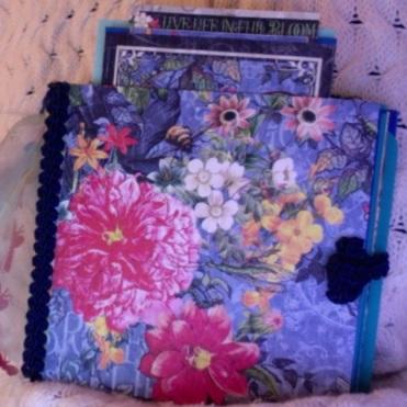 """Flutter Journal 5"""" x 5"""" x 2"""" $53.00"""