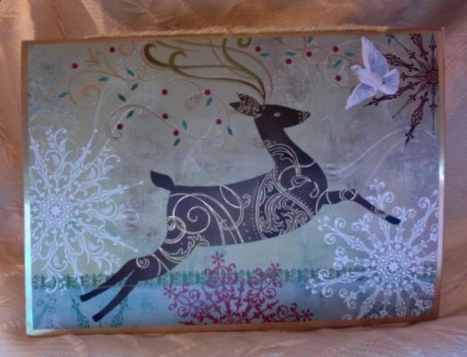 Reindeer Card Album