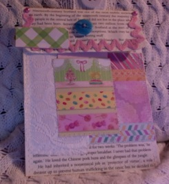 Candy Shop Book Page Pocket