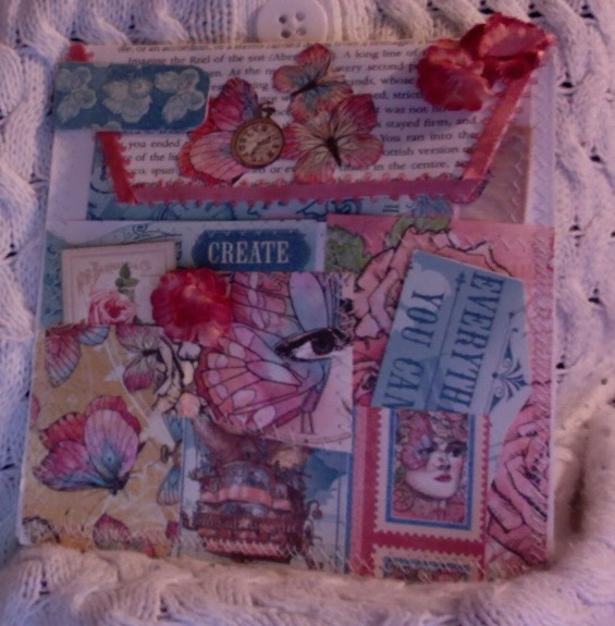 Imagine Book Page Pocket