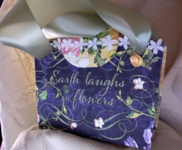 "Earth Laughs in Flowers Album 5"" x 6"" x 2.5"" $62.00"