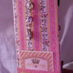 "Small Scale Princess Album Spine 5.5"" x 7.25"" x 2.5"" $197.00"