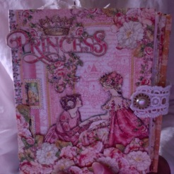 "Small Scale Princess Journal 5.5"" x 7.25"" x 2.5"" $197.00"