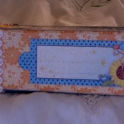 "Dreamland Soap Box Notebook 3-7/8"" x 2-1/4"" x 1-1/4"" $26.00"