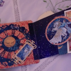 "SOLD Fairy Dance Card 4-5/8"" x 4-3/8"" $4.40"