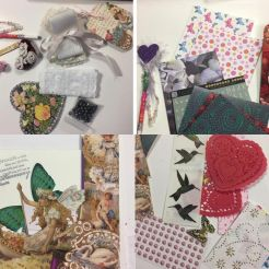 Fillers for Stuffed Valentine Envelope