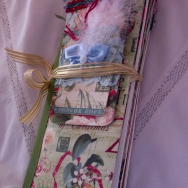 12 Days of Christmas Envelope Journal $44.00