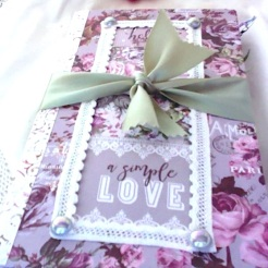 Simple Love Journal Cover $35.00