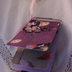 Flipbook for Purple Floral Box and Notebook $26.00
