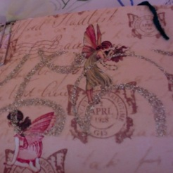 "Rabbits and Fairies Journal 6"" x 4.25"" $35.00"