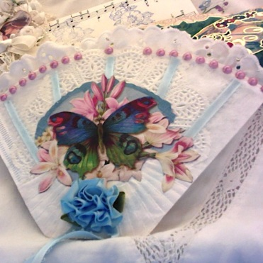 Private Collection: Blue Butterfly Coffee Filter Pocket