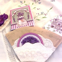 "Lavender Lavender Coffee Filter Pocket 4"" x 6"" $26.00"