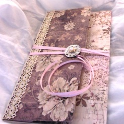 "Old Lace Wallet 8.5"" x 4.75"" $35.00"